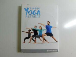 beachbody 3 week yoga retreat 2016 dvd  ebay