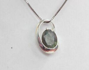 Edler-moderner-1-8-Carat-irrisierender-Labradorit-Anhaenger-925-Silber-Collier-K