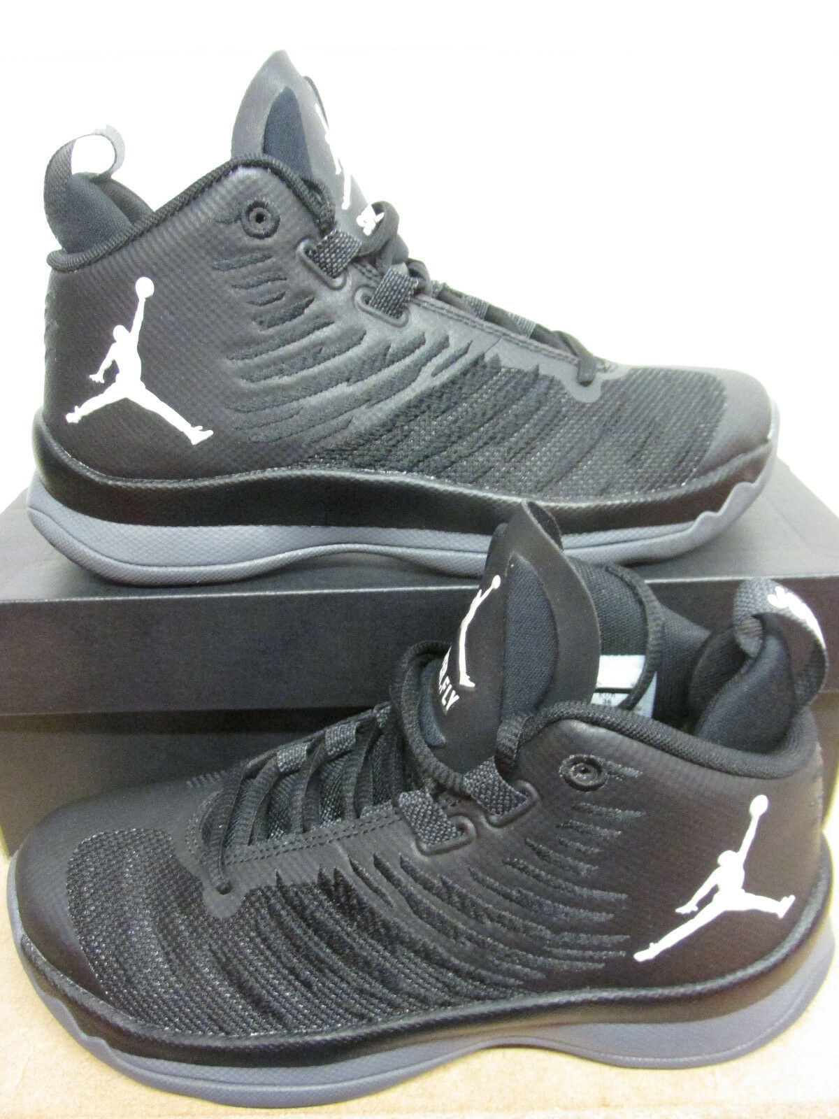 d37b8c68ab21 Nike Nike Nike Air Jordan Super.Fly 5 BG Hi Top Basketball Trainers 844689  005