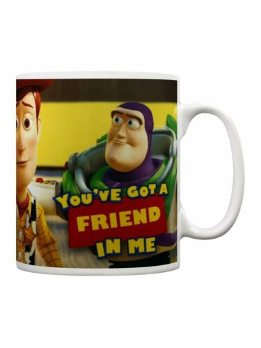 OFFICIAL DISNEY TOY STORY YOU'VE GOT A FRIEND IN ME MUG COFFEE CUP NEW GIFT BOX
