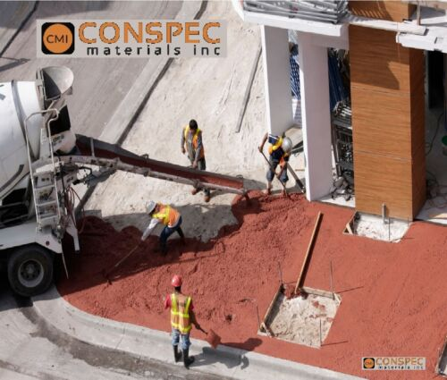 25 lbs MIAMI RED Concrete Curbing Color Pigment Dye Cement Molds Tile Pottery