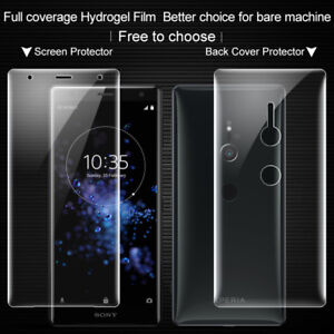 online store 29390 a95cb Details about For Sony Xperia XZ2 IMAK Anti-Glare Full Coverage Back Cover  Screen Protector