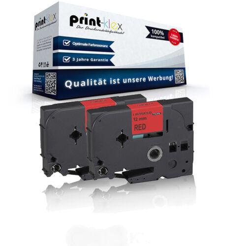 2x Premium kompatible Schriftbänder für Brother TZE431 Schriftrolle Easy Print S