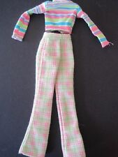 Cool Sitter Teen Skipper Babysitter Doll Clothes Plaid Pants  Stripe Shirt