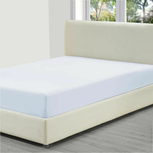 """fitted sheet 200 T//C polycotton 21 colours 2/'6/""""x 5/'9/"""" shorty bed 75cm X 175cm"""