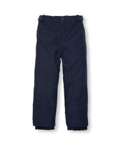 1ac084694 THE CHILDREN'S PLACE NAVY BLUE GIRL SKI SNOW INSULATED PANTS WATER ...