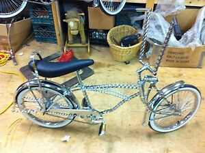 LOWRIDER-BIKE-BEAUTIFUL-ALL-TWISTED-COMPLETE-BICYCLE