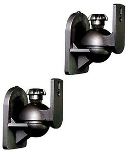 2-Pack-Adjustable-Surround-Sound-Satellite-Speaker-Brackets-Wall-Mount-5-1-7-1