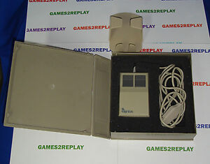 VINTAGE-BOXED-GENIUS-GM-7-BUS-MOUSE-9-PIN-amp-HOLDER-DATEL-GENIUS-ADAPTER