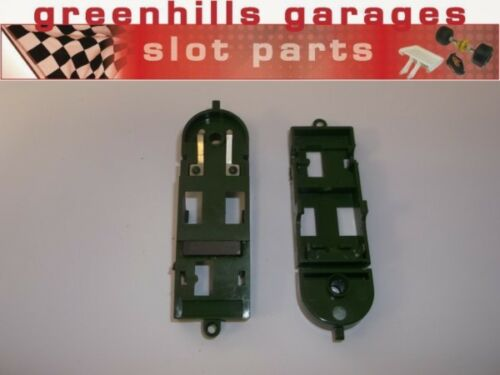 Greenhills Scalextric Horse and Jockey chassis plate pair with magnets NEW ...