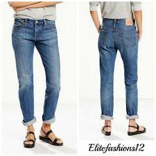 Levi's Womans 501 Boyfriend Jeans Lonesome road Size 30 x 32 Style # 125010229