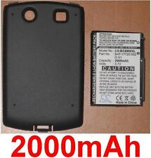 Batería + Carcasa 2000mAh Para Blackberry Curva 8900 BAT-17720-002 D-X1