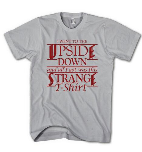 Herren T-Shirt Stranger Things Science Fiction Serie Horror Film Neu ST1217