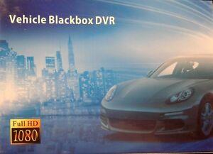 Dash Cam 1.5'' 1080P Full HD Car DVR Video Recorder Motion Detection G Sensor