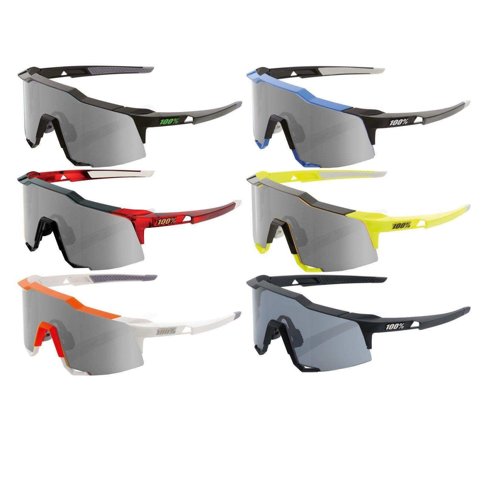 100% Prozent Speedcraft Sonnen Brille Smoke grey MTB Road Bike Fahrrad Megol Rad