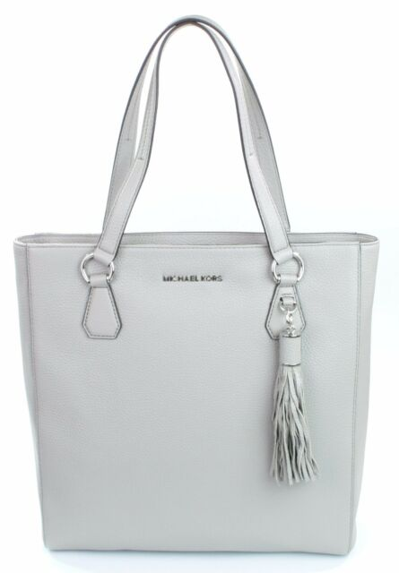 Michael Kors Bedford Item tote Leather Perl Grey