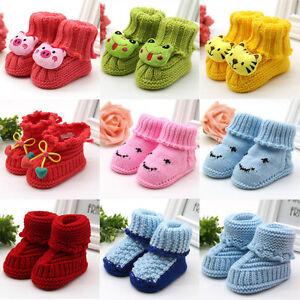 5d64b1fc8 Image is loading Toddler-Newborn-Baby-Girl-Boy-Handmade-Knit-Crochet-