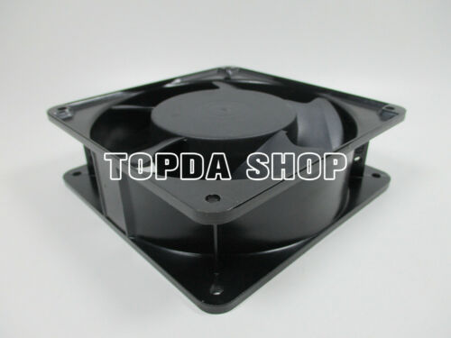 1pc HC12038HB Axial flow fan 230V 12CM Cooling fan 0.10A//0.12A aluminum frame#ZH