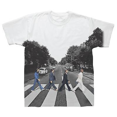 The Beatles Abbey Road John Lennon Rock Licensed Tee T-Shirt Men