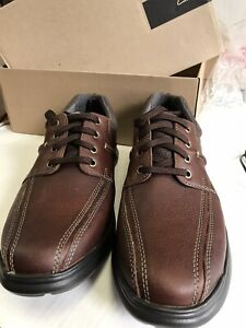 clarks cotrell walk leather shoes