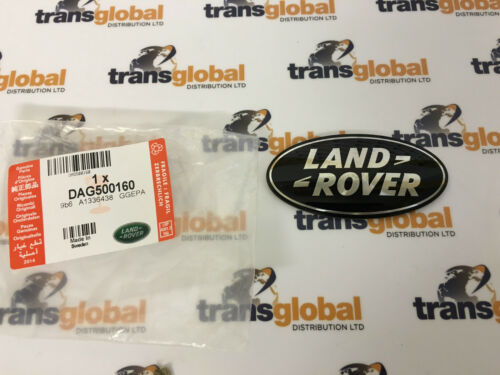 Range Rover Sport 4.2 V8 suralimenté noir /& argent Grille Badge-Véritable LR