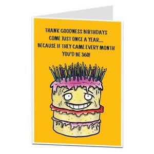 Image Is Loading Funny 30th Birthday Card For Men Amp Women