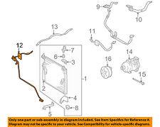 toyota oem 07-14 fj cruiser a/c condenser, compressor-line tube