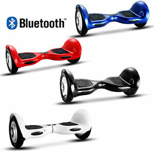 "Hoverboard 10""pulgadas Bluetooth scooter eléctrico por la borda"