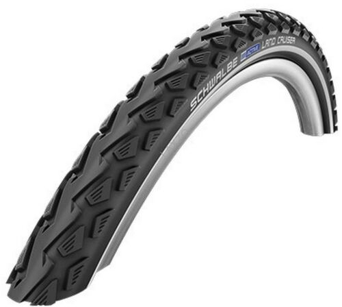 Schwalbe Land Cruiser Tyre Active Wired Kevlar Guard SBC Black Bicycle Bike