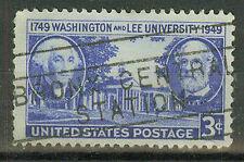 Briefmarken USA 1949 Wasington- Lee- Unversität Mi.Nr.595
