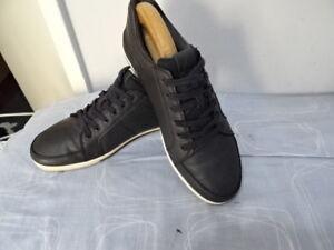 ALDO-pour-homme-en-cuir-noir-chaussures-a-lacets-Taille-UK-8