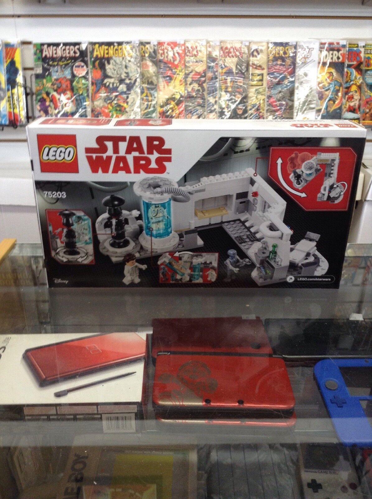 Lego 75203 Star Wars Hoth Medical Chamber Complete Set Set Set Minifigures Manual new cf87fc