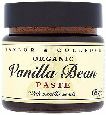 Taylor And Colledge 100% Natural Vanilla Bean Paste 65g Pack Of 2 |FAST DELIVERY