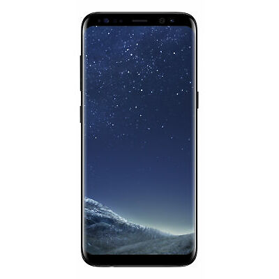 Samsung Galaxy S8 (G950F, 64GB/4GB, Opt) - Midnight Black - [Au Stock]