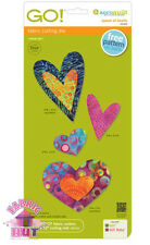 AccuQuilt Go Fabric Cutting Die Queen of Hearts 55325