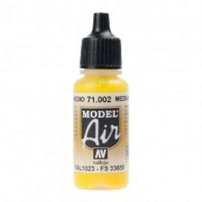 VAL002 YELLOW VALLEJO MODEL AIR ACRYLIC AIRBRUSH PAINT OR PICK ANY OTHER OR MIX