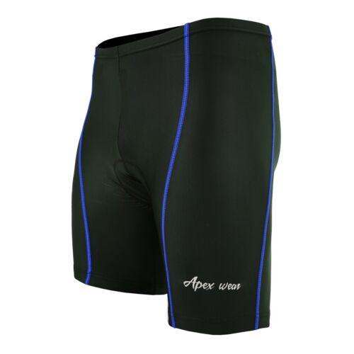 Men/'s Cycling Cool Max Padded Compression Shorts Nylon Lycra