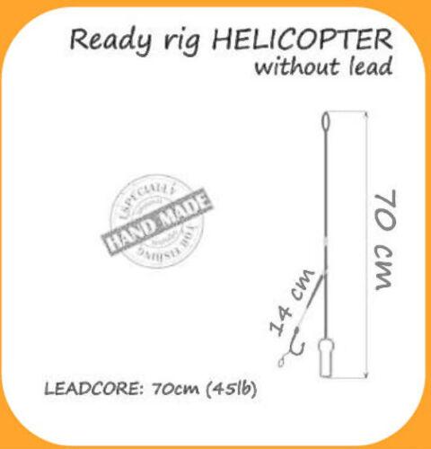 Carp Rig Helicopter Fertige Montage Karpfen Angeln Vorfach