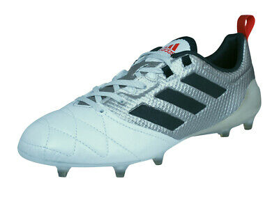 adidas Ace 17.1 FG Womens Leather Soccer Cleats Football - Metallic Silver White   eBay
