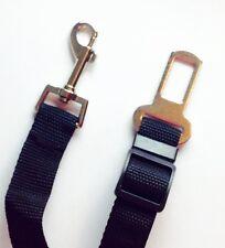 Dog Seat Belt Clip Safety Fastener Car Adjustable Black Uk Seller