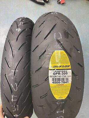 DUNLOP GPR-300 REAR TIRE 190//50ZR17 190//50-17 YAMAHA YZF R1 1000 FZS 98-13