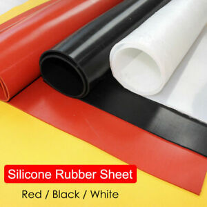 White Silicone Rubber Sheet 3mm thick 841mm x 594mm Size A1