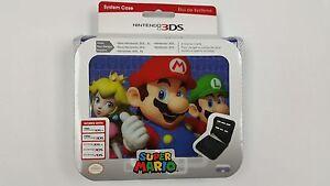 Super Mario System Case (Nintendo 3DS, 3DS XL, 2DS) Mario, Peach and Luigi