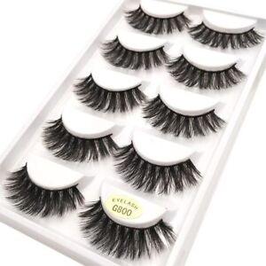 5Pcs-Real-3D-Mink-Hair-Natural-Long-Thick-Makeup-Eyelashes-False-Eye-Lashes-New