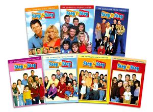 Step By Step Complete Tv Series Seasons 1 7 Dvd Bundle Set Brand New Free Ship Ebay