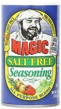Chef Paul Prudhomme's Magic Seasoning Blends Magic Salt Free Seasoning - 6 Pack