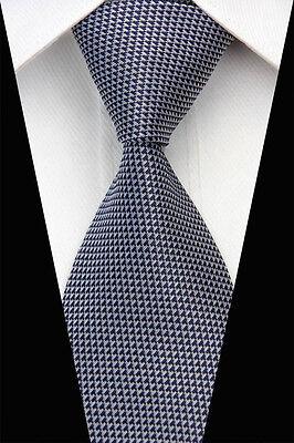NT0619 Striped Men's New Classic Jacquard Woven Silk Necktie Tie Pro