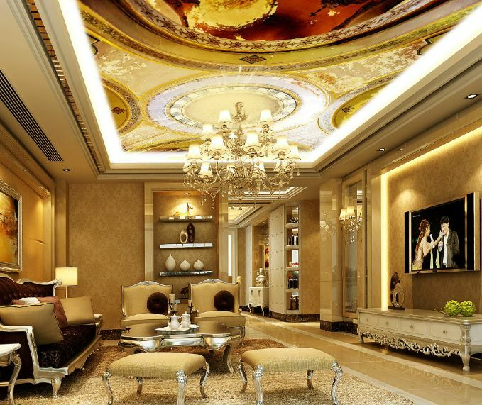 3D Grand Art 8232 Ceiling WallPaper Murals Wall Print Decal Deco AJ WALLPAPER GB
