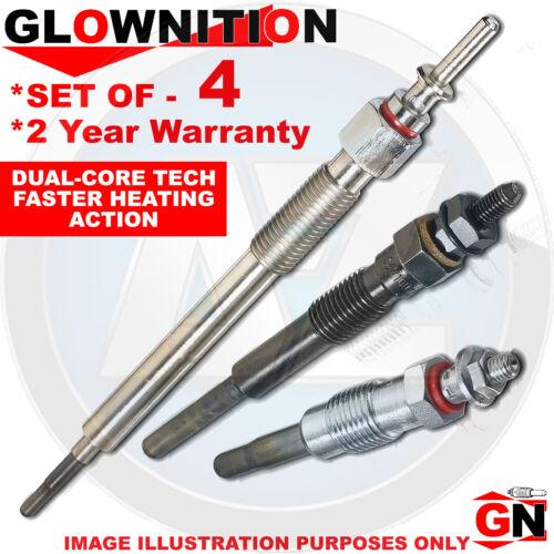 G225 PER DACIA DUSTER 1.5 dCi glownition incandescenza i tappi x 4