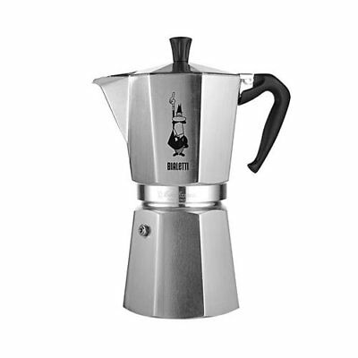 NEW Bialetti Moka Express Stovetop Espresso Maker - 12 Cup (RRP $124)